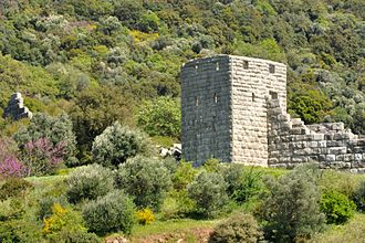 Messene - A watchtower in the circuit wall