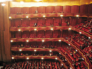 Metropolitan Opera (Lincoln Center), auditorium