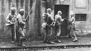5th Infantry Division (United States) - Men of the 5th Infantry Division advance toward Metz