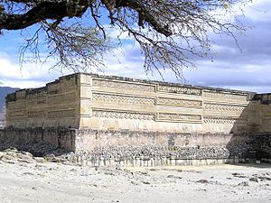 Mitla - Part of the Columns Group