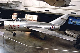 Mikoyan-Gurevich MiG-15 - No Kum-sok's MiG-15 on display at the National Museum of the United States Air Force.