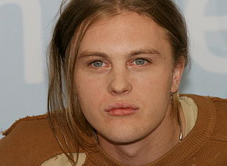 Michael Pitt American actor, model, and musician