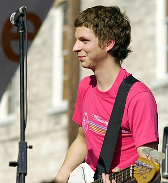 Michael Cera - Cera performing in 2011
