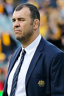 Michael Cheika Australian rugby union player