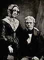 Michael Faraday and Mrs M. Faraday (?). Photograph by Henry Wellcome V0026351.jpg