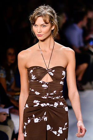 Karlie Kloss - Karlie Kloss walks the runway at the Michael Kors Spring/Summer 2014 show at New York Fashion Week, September 2013.