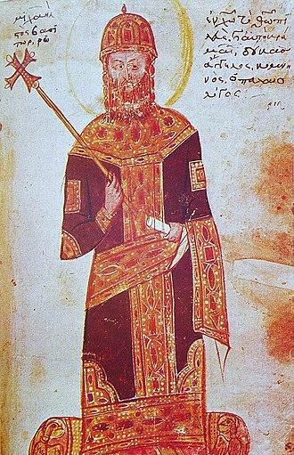 Uprising of Ivaylo - Michael VIII Palaiologos