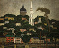 Middleton Manigault - A New England Town (1911).jpg
