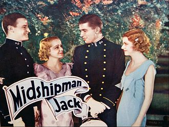 Florence Lake - Lobby card from Midshipman Jack (1933)