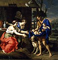 Mignard - The Shepherd Faustulus Bringing Romulus and Remus to His Wife.jpg