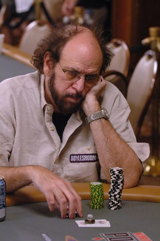 Mike Caro - Mike Caro in the 2006 World Series of Poker