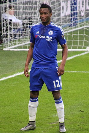 John Obi Mikel - Mikel playing for Chelsea in 2016