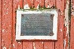 Mikkelsen Harbour-2016-Trinity Island-D'Hainaut Island–Refugio Naval (plaque).jpg