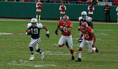 Austin (#19) w barwach Dallas Cowboys