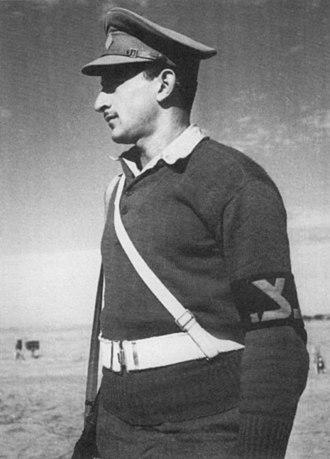 Military Police Corps (Israel) - Military policeman in the 1948 Arab–Israeli War