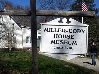 Westfield, New Jersey - Miller-Cory House Museum