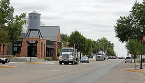 Milliken, Colorado - Broad Street in Milliken.