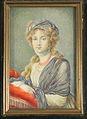 Miniature of Elizabeth Alexeevna (Vigee-Le Brun type) by anonymous (19 c., priv.coll.) 2.jpg