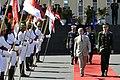 Ministro da Defesa, Celso Amorim, participa de solenidade do Dia do Soldado ao lado dos comandantes do Exército, da Marinha e da Aeronáutica (7871960004).jpg