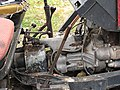 Minitractor near Hostomice village (Beroun District, 004).JPG