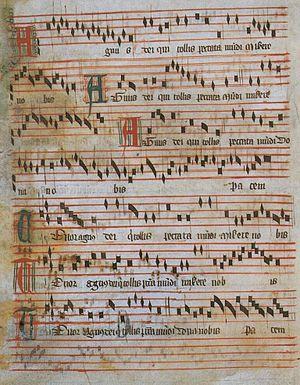 Barcelona Mass - The Agnus Dei of the Barcelona Mass
