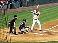 Mississippi State at Arkansas baseball, 2011 002.jpg