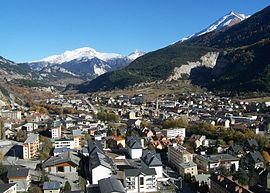 A view of east Modane (from Loutraz)