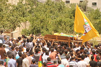Dura, Hebron - Mohammed Dudin funeral