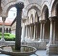 Monreale Abbey cloister.jpg