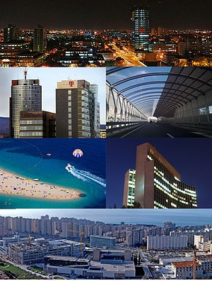 Economy of Croatia - Image: Montage Economy of Croatia