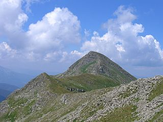 Monte Cusna mountain in Italy
