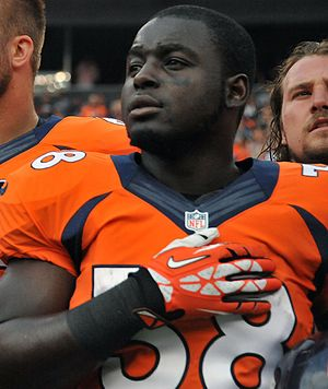 Montee Ball - Ball with the Denver Broncos in 2013