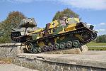 Monument of tank battle of the Battle of the Dukla Pass - 2015.JPG