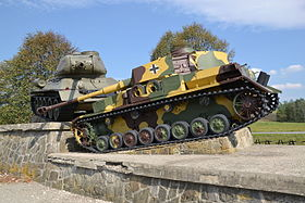 Monument of tank battle of the Battle of the Dukla Pass - 2015.JPG