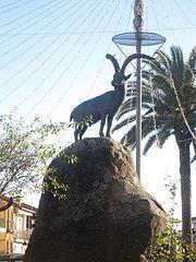 Monumento a la cabra hispánica