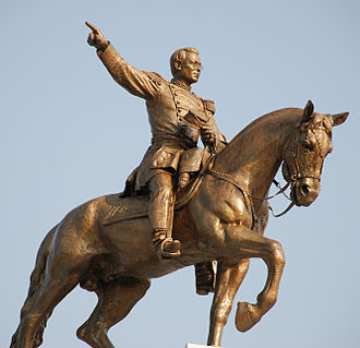Ignacio Zaragoza - General Zaragoza monument by Jesús Fructuoso Contreras