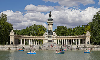 Buen Retiro Park - Monument to Alfonso XII