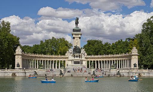 Monumento a Alfonso XII de España en los Jardines del Retiro - 04