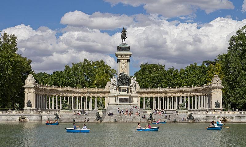 Ficheiro Monumento A Alfonso Xii De España En Los Jardines Del Retiro 04 Jpg Wikipédia A Enciclopédia Livre