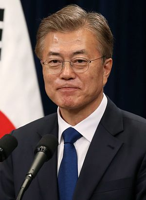 Moon Jae-in - Image: Moon Jae in 2017