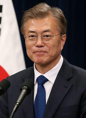 Moon Jae-in - Image: Moon Jae in 2017