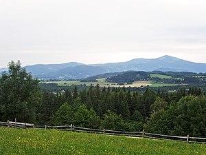 Beskydy Protected Landscape Area - Image: Moravian Silesian Beskids (CZE) from Kunčice pod Ondřejníkem