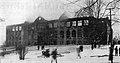 Morse Hall Cornell Chemistry building destroyed by fire, Cornell Alumni News Feb 17 1916.jpg
