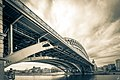 Moscow, Andreevsky bridges and old factories in Luzhniki (2014).jpg