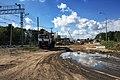 Moscow, Losinoostrovskaya Street overpass construction (30842312034).jpg