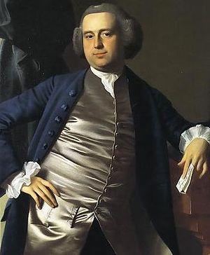 Moses Gill - Portrait by John Singleton Copley