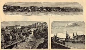 Moss, Norway - Moss in 1885