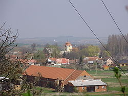 Skyline of Mostkovice