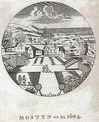 Mostyn as in 1684