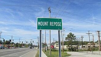 Mount Repose, Ohio - Image: Mount Repose OH1